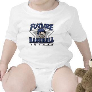 Future Baseball Star Navy Helmet T-shirt