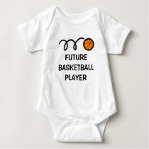 Future basketball player | Cute baby clothing Baby Bodysuit