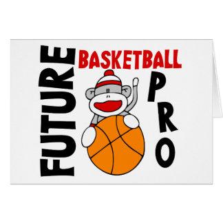 Future Basketball Pro Sock Monkey Card