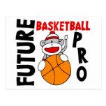 Future Basketball Pro Sock Monkey Postcard