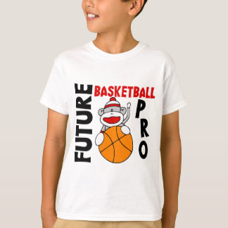 Future Basketball Pro Sock Monkey T-Shirt