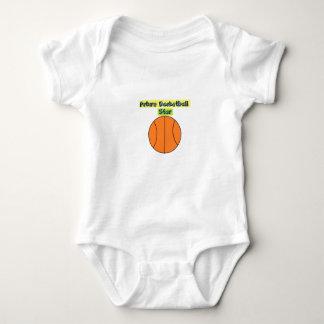 Future Basketball Star baby Baby Bodysuit