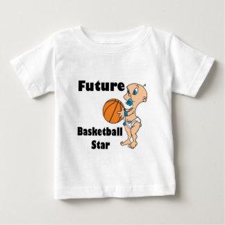 future basketball star baby boy baby T-Shirt
