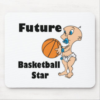 future basketball star baby boy mouse pads