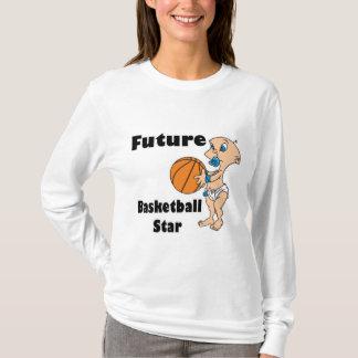 future basketball star baby boy T-Shirt