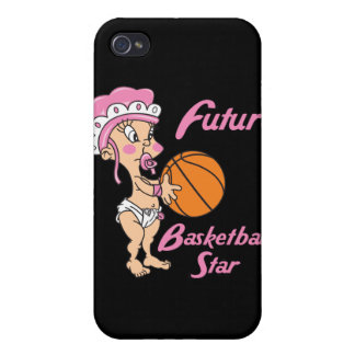 future basketball star baby girl iPhone 4/4S case