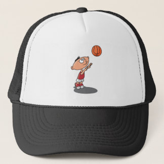 future basketball star trucker hat
