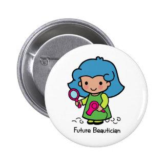 Future Beautician Button