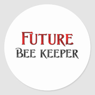 Future Bee Keeper Classic Round Sticker