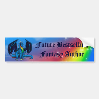 Future Best Selling Fantasy Author Bumper Sticker