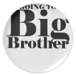 Future Big Brother Children's T-Shirt M.png Dinner Plates