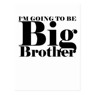 Future Big Brother Children's T-Shirt M.png Postcard