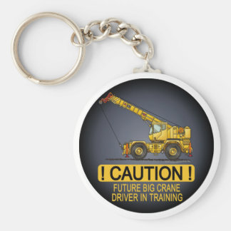 Future Big Crane Driver Key Chain