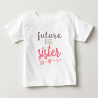 Future Big Sister Girls T-Shirt