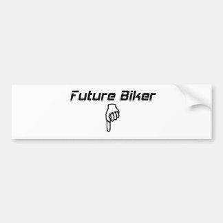 Future Biker Bumper Sticker