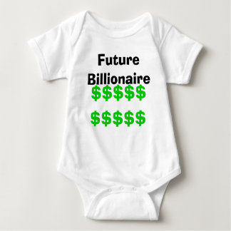 Future Billionaire Baby Bodysuit
