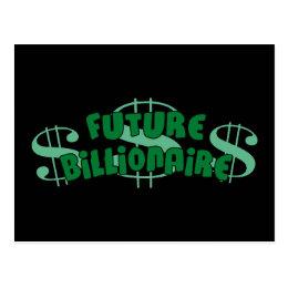 Future Billionaire Postcard