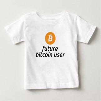 Future Bitcoin User Baby Shirt