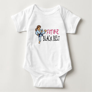 Future Black Belt GIRL 1.1 Infant Creeper
