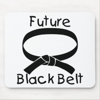 Future Black Belt Mouse Pad