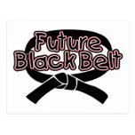 Future Black Belt  (red) Postcards