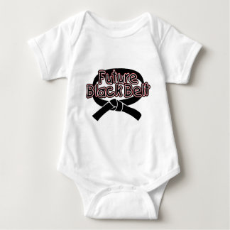 Future Black Belt  (red) Infant Creeper