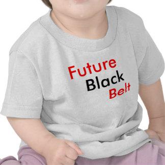 Future Black Belt T Shirts
