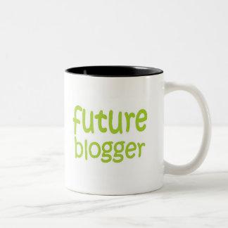 future blogger Two-Tone coffee mug