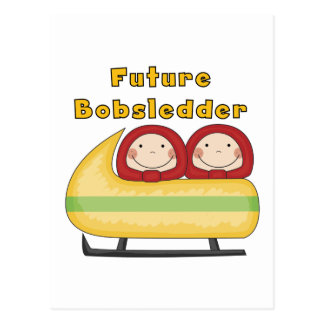 Future Bobsledder Tshirts and Gifts Postcard