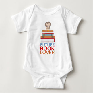 Future Book Lover Baby Cute Owl Shirt