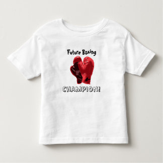Future Boxing Champion! Toddler T-shirt