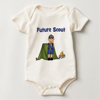 Future Boy Scout Baby Bodysuit