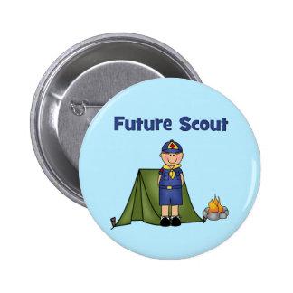 Future Boy Scout 2 Inch Round Button