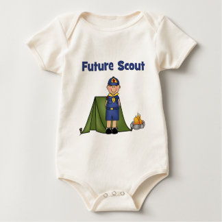 Future Boy Scout Rompers