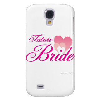 Future Bride 1 hearts.jpg Samsung Galaxy S4 Case