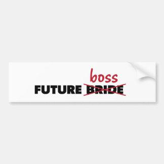 Future Bride/Boss Bumper Sticker