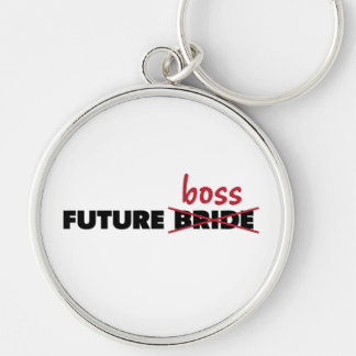 Future Bride/Boss Premium Round Keychain