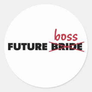Future Bride/Boss Stickers