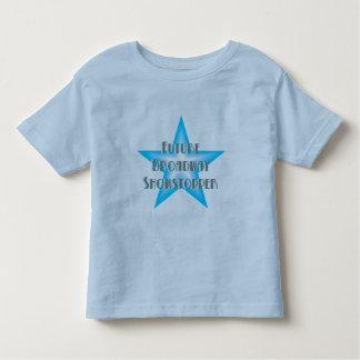 Future Broadway Showstopper (Blue) Kids T-Shirt