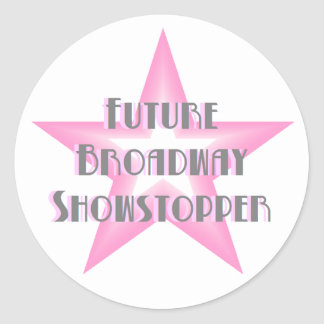 Future Broadway Showstopper (Pink) Stickers