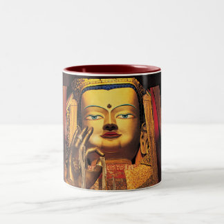 Future Buddah mug red/white