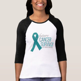 Future Cancer Survivor -  Ovarian Cancer Awareness T-Shirt