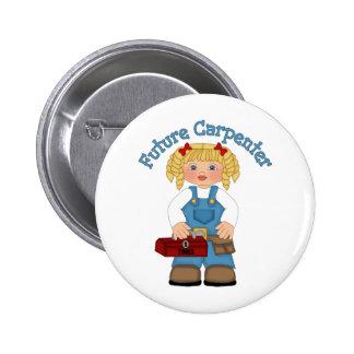 Future Carpenter Construction Worker- GIRLS Pin