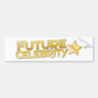 FUTURE CELEBRITY BUMPER STICKER