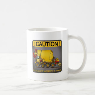 Future Cement Mixer Truck Driver Coffee Mug