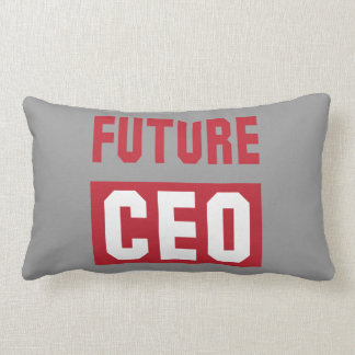 Future CEO Chief Executive Officer Businessman Lumbar Pillow