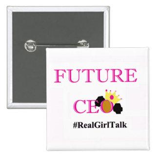 Future CEO Girls Button