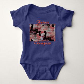 Future Champion Chess Onsie Baby Bodysuit
