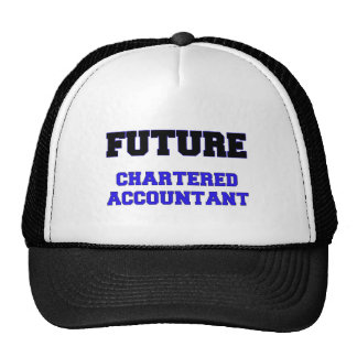 Future Chartered Accountant Trucker Hats