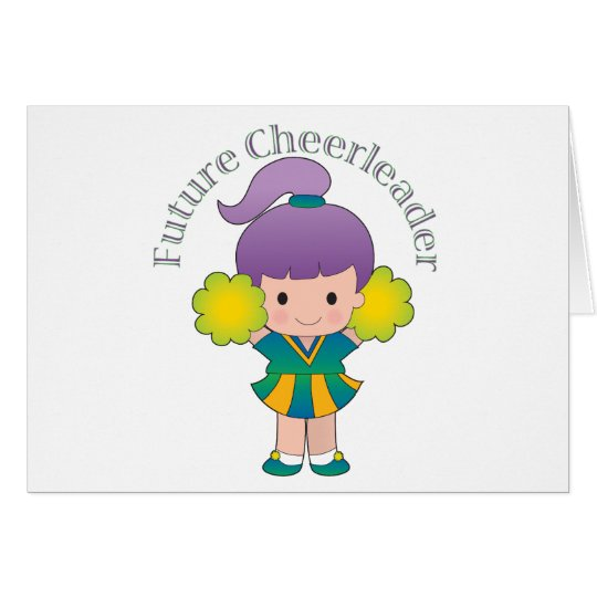 Future Cheerleader Card